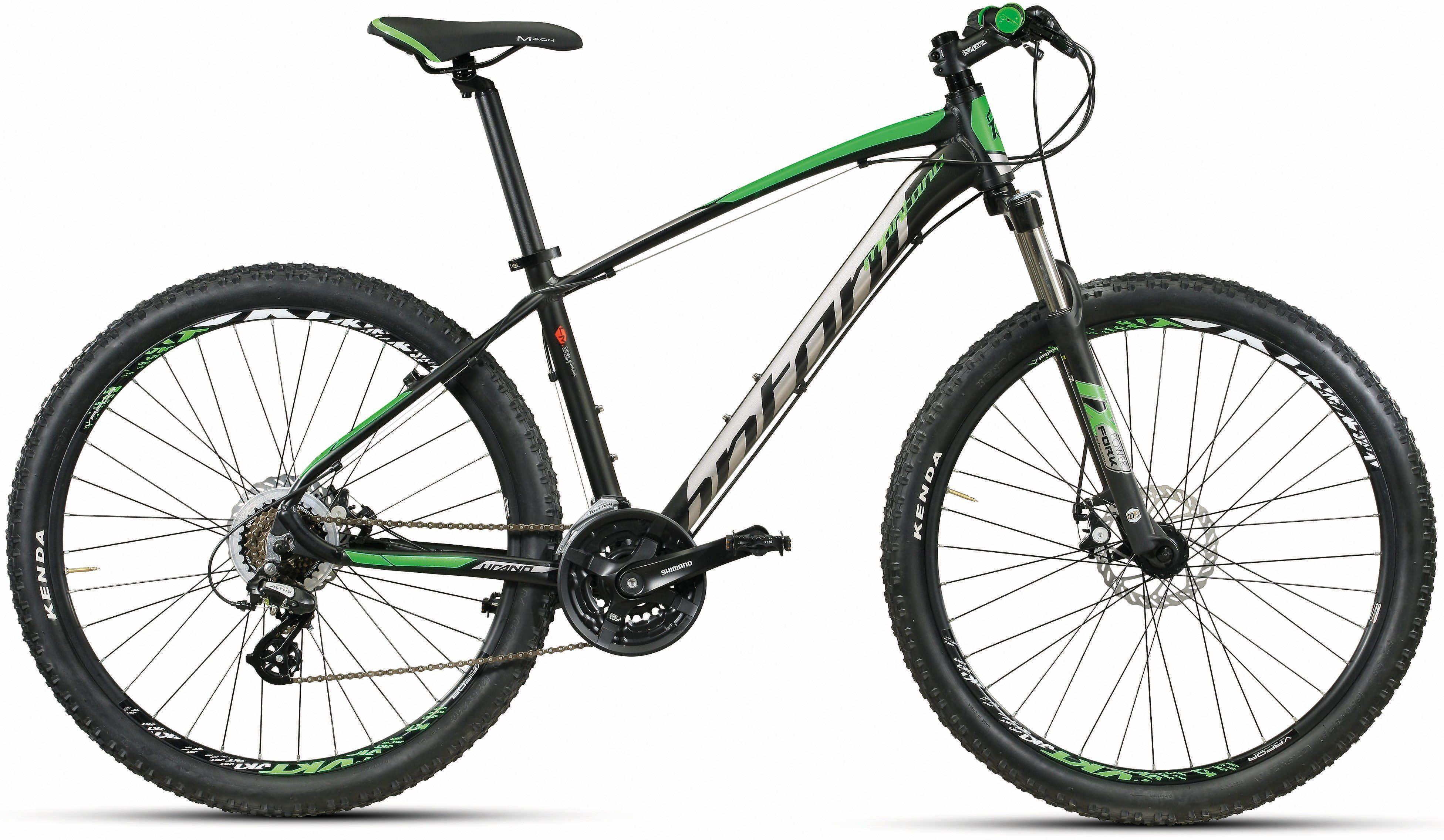 Montana Fahrräder Mountainbike »URANO H269-D«, 21 Gang Shimano Altus Schaltwerk, Kettenschaltung
