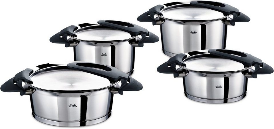 fissler topf set edelstahl induktion intensa 8tlg online kaufen otto. Black Bedroom Furniture Sets. Home Design Ideas