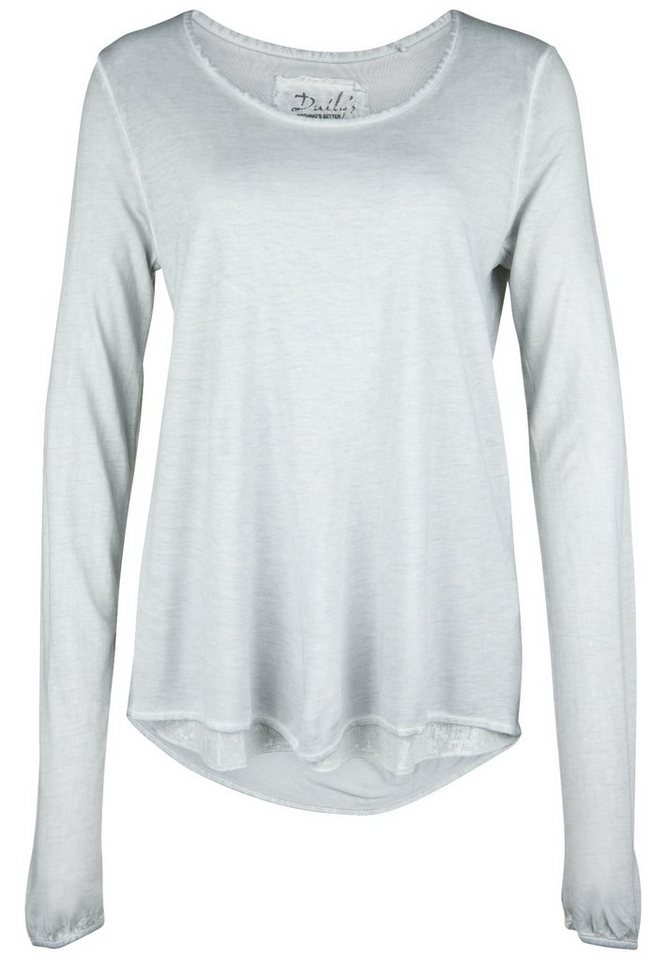 DAILY'S NOTHING'S BETTER Longsleeve »HALIME« in fox grey