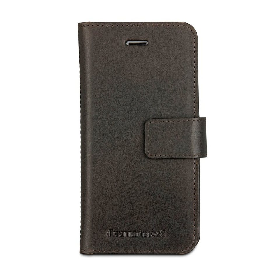 dbramante1928 LederCase »Folio Lynge 2 iPhone (7) Hunter Dark« in braun
