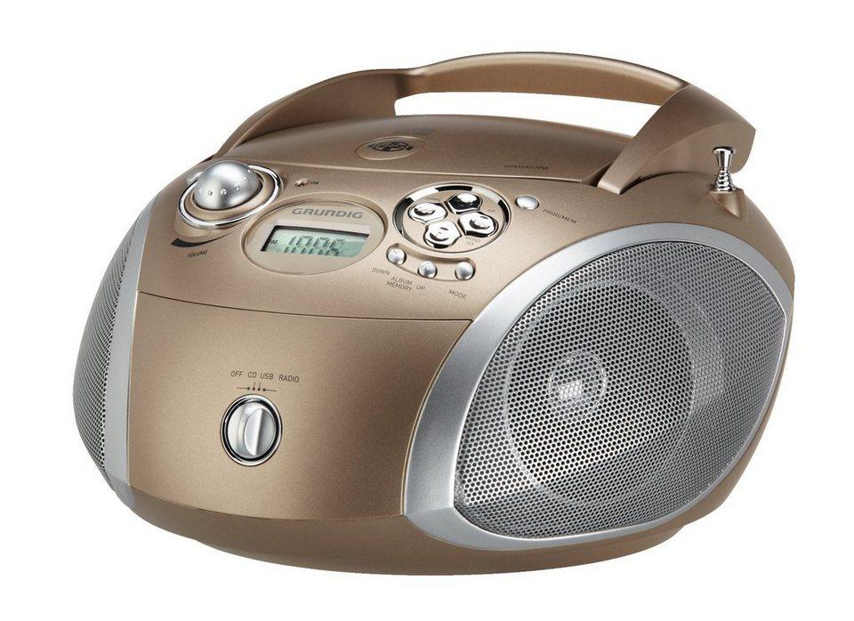 grundig radio mit cd player und mp3 wma wiedergabe rcd. Black Bedroom Furniture Sets. Home Design Ideas
