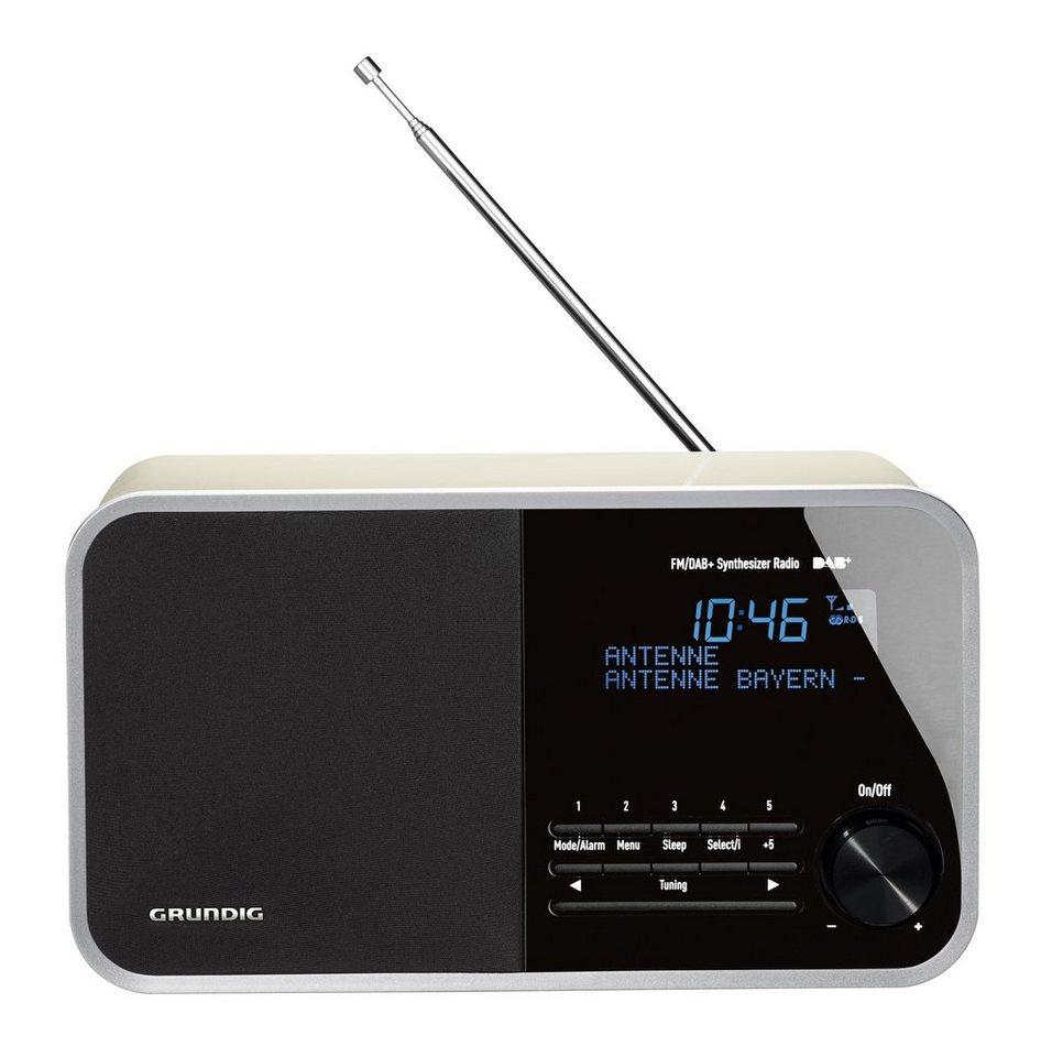 Grundig Digitales Radio im Retro-Look mit DAB+, UKW und RDS »DTR 3000 DAB+« in Weiss