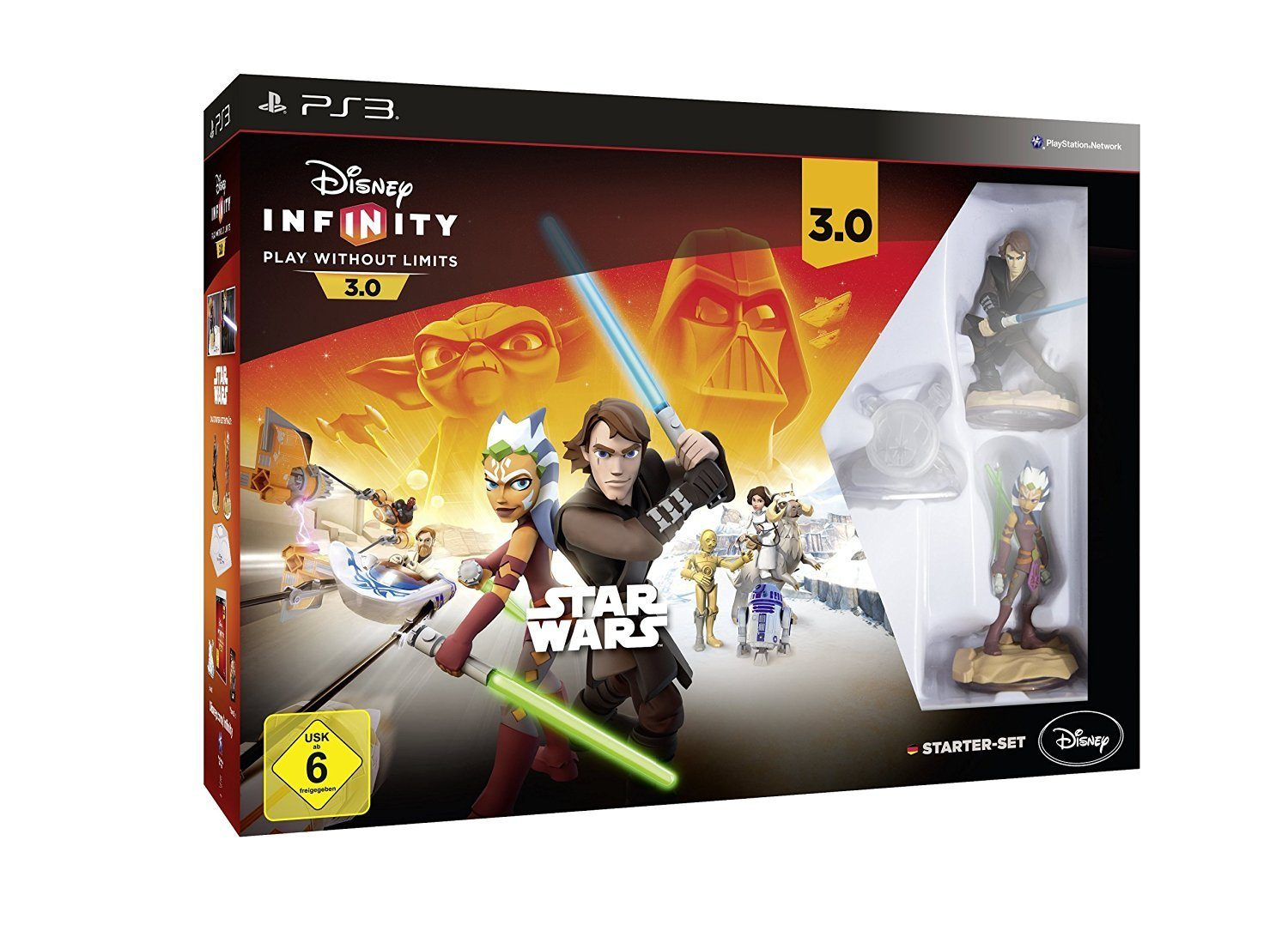 DISNEY Playstation 3 Spiel »Disney Infinity 3.0 - Star Wars Starter Set«