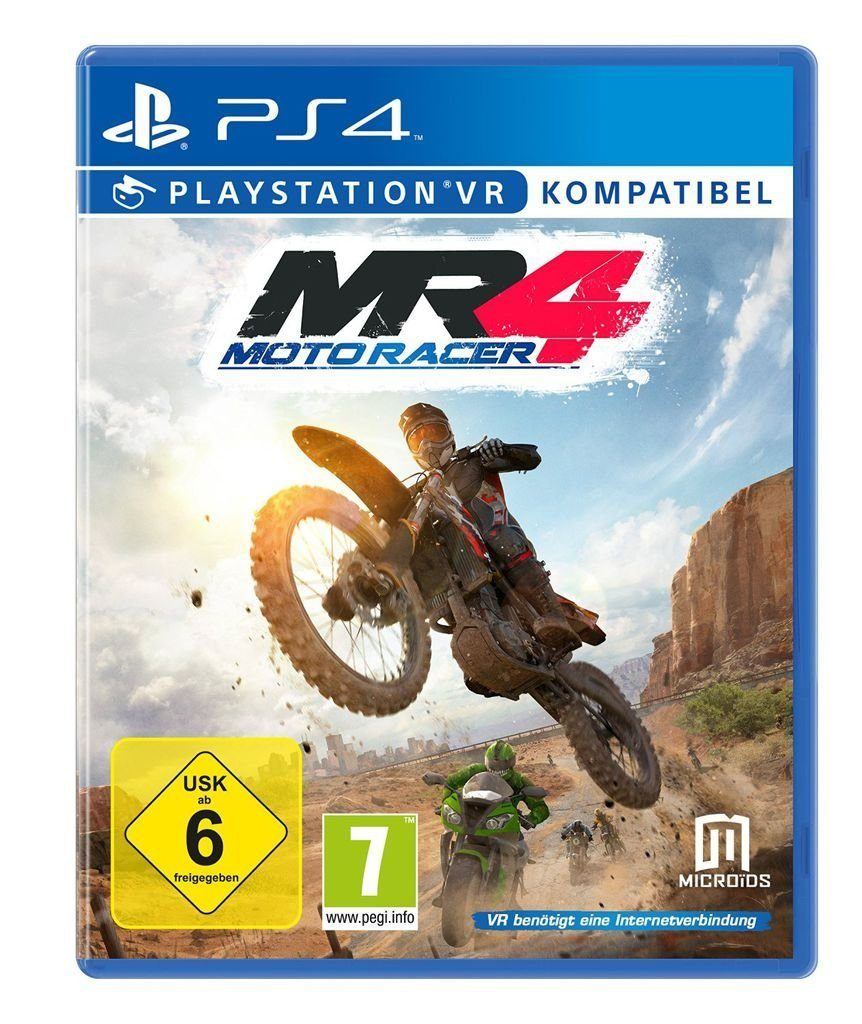astragon Playstation 4 - Spiel »Moto Racer 4«