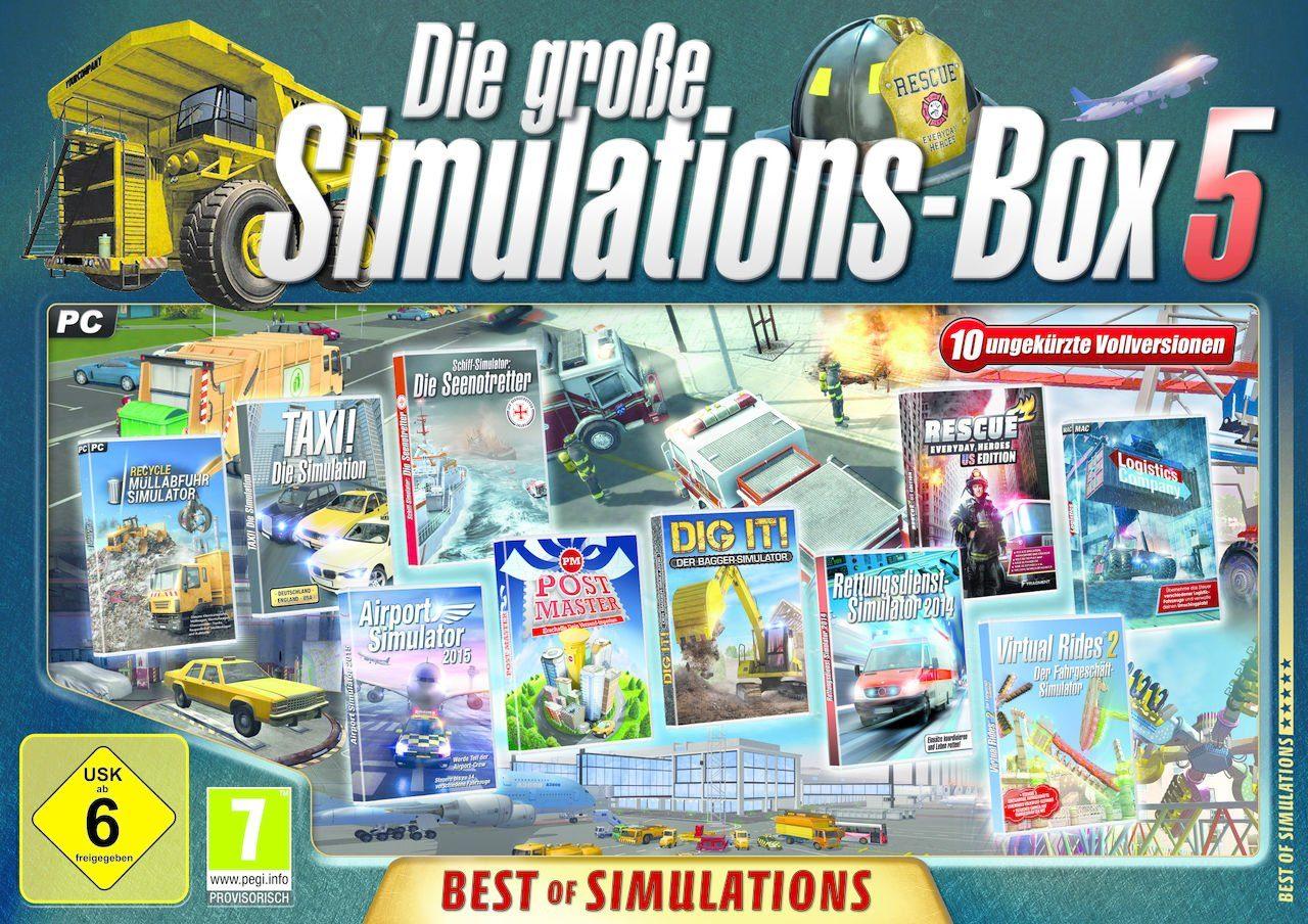 astragon PC - Spiel »Die große Simulations-Box 5«