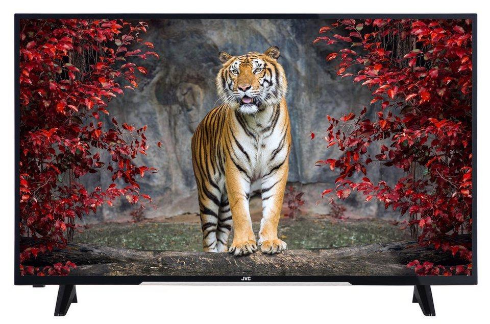 JVC LED-Fernseher (49 Zoll, Full HD, DVB-T2 HD) »LT-49VF43A« in Schwarz