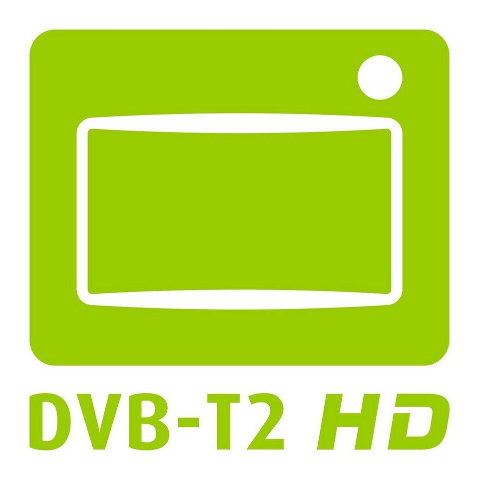 Telefunken LED-Fernseher (24 Zoll, HD-Ready, DVB-T2 HD, DVD) »XH24A101VD« in Schwarz