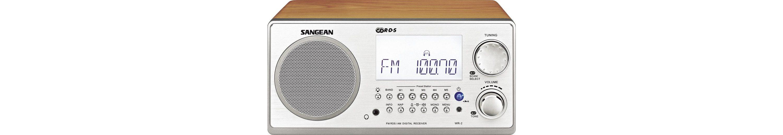 Sangean Desktop-Radio im eleganten Holzgehäuse »WR-2«