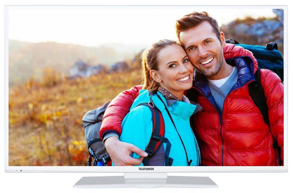 Telefunken LED-Fernseher (43 Zoll, Full HD, DVB-T2 HD, SmartTV) »XF43A401-W« in Weiß