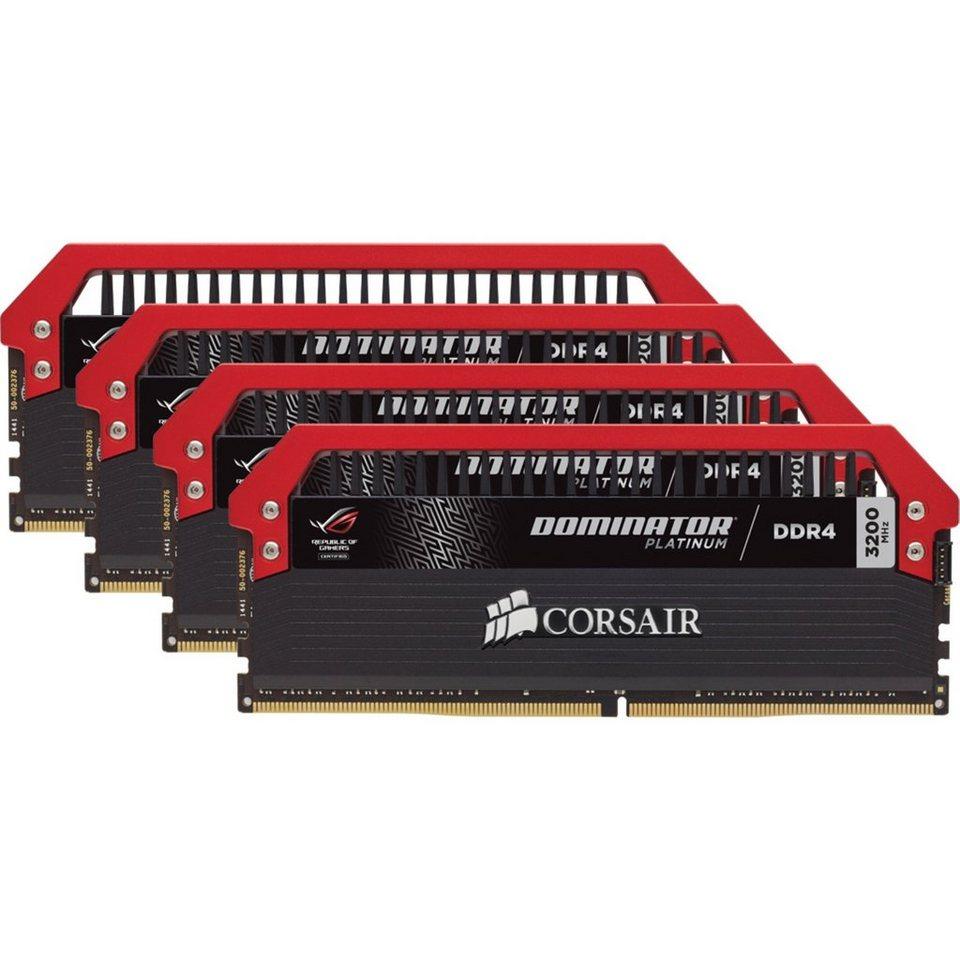 Corsair Arbeitsspeicher »DIMM 32 GB DDR4-3200 Quad-Kit«