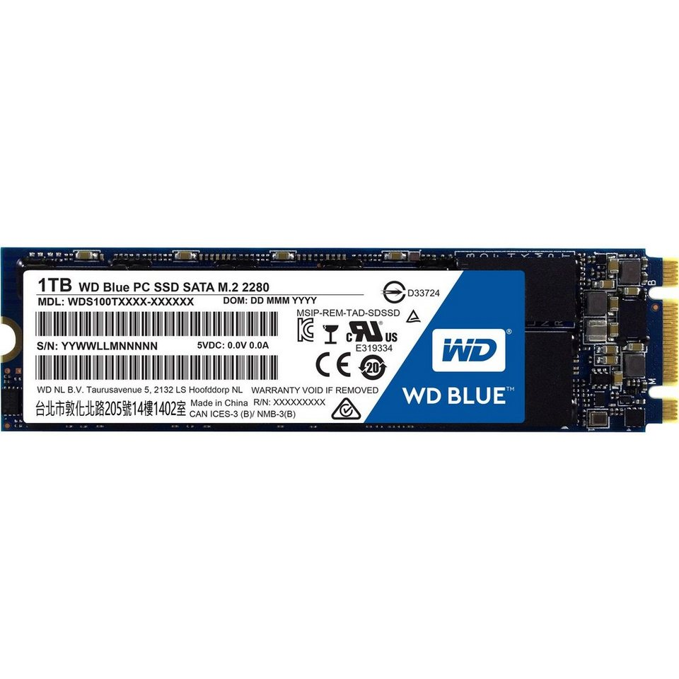 Western Digital Solid State Drive »Blue 1 TB«