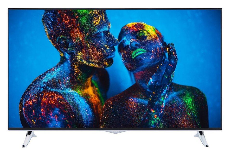 Telefunken LED-Fernseher (49 Zoll, 4K UHD, DVB-T2 HD, SmartTV) »XU49B401« in Schwarz