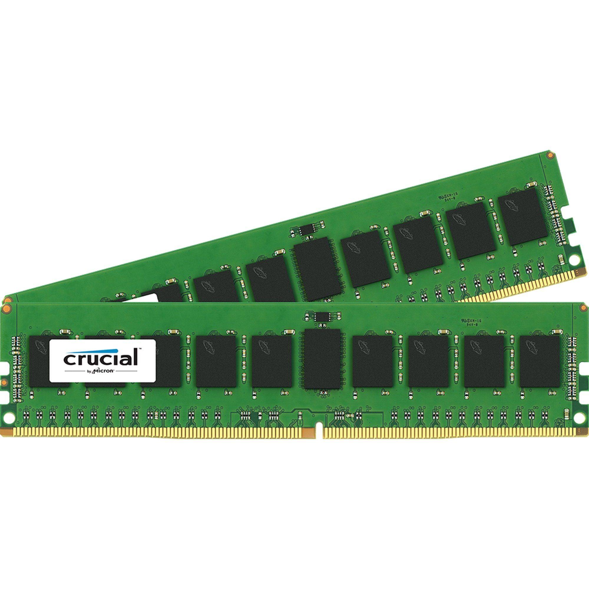 Crucial Arbeitsspeicher »DIMM 16 GB DDR4-2133 Kit«