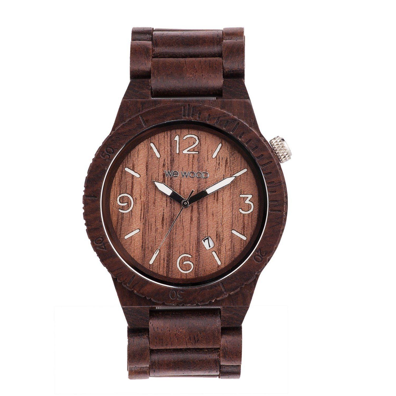 WEWOOD Armbanduhr Alpha Chocolate