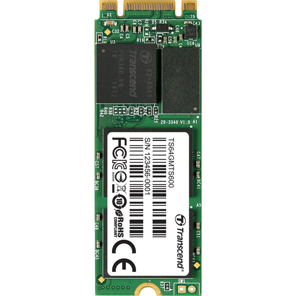 Transcend Solid State Drive »MTS600 64 GB«