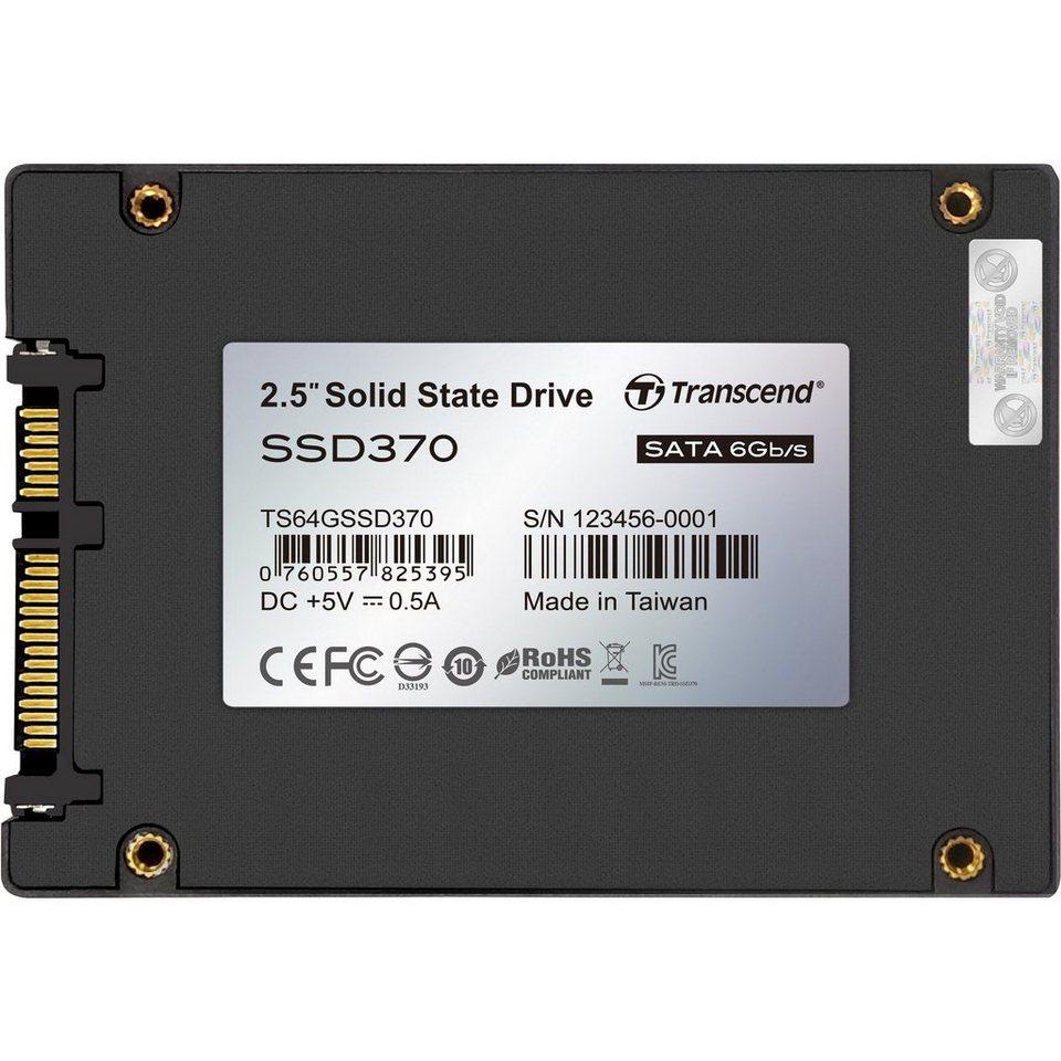 Transcend Solid State Drive »TS64GSSD370 64 GB«
