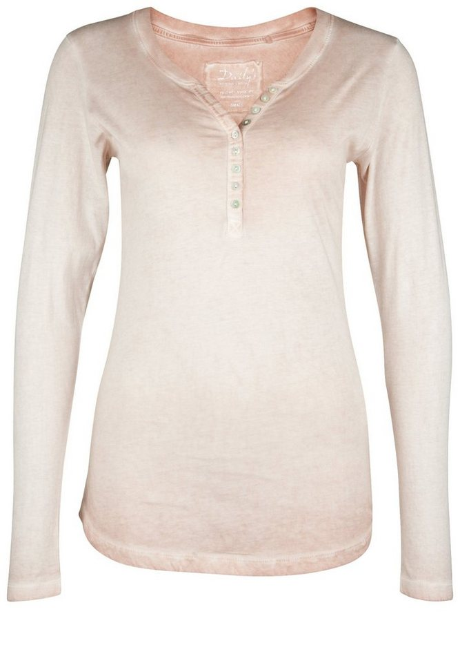 DAILY'S NOTHING'S BETTER Longsleeve »BELLA CPD« in blush