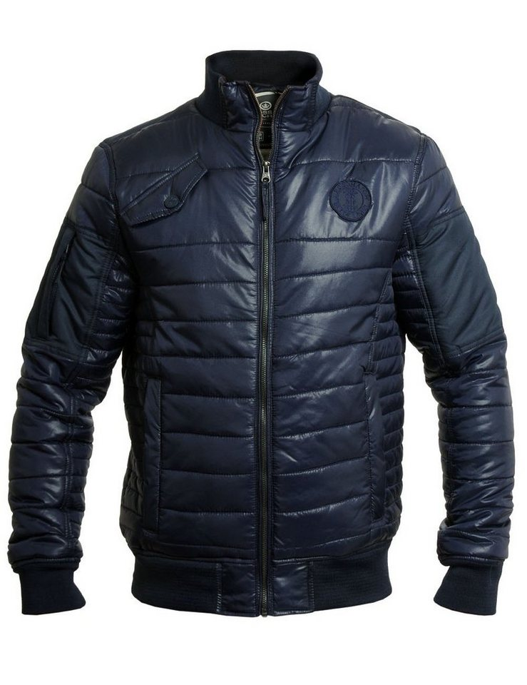 CROSSHATCH Winterjacke »Chesney« in dunkelblau-marine