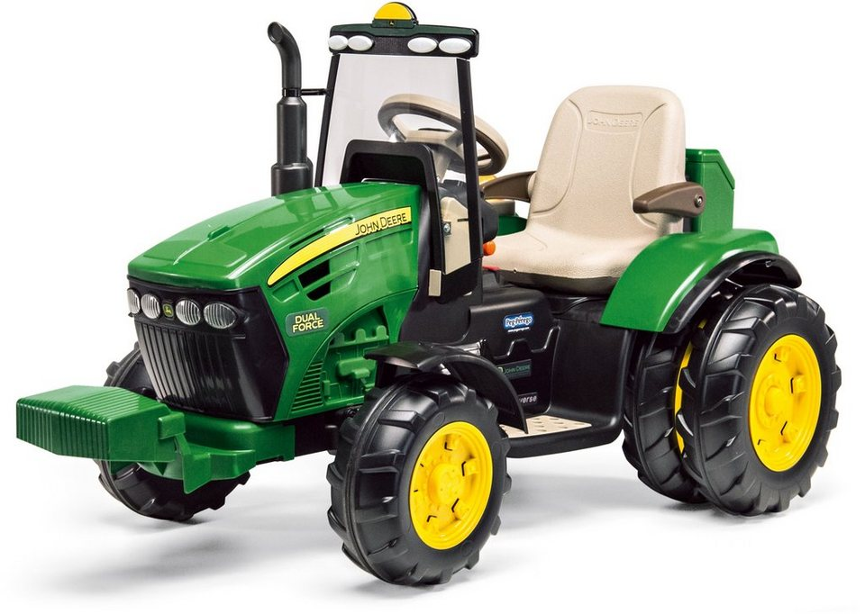 peg p rego elektrofahrzeug traktor john deere dual force. Black Bedroom Furniture Sets. Home Design Ideas