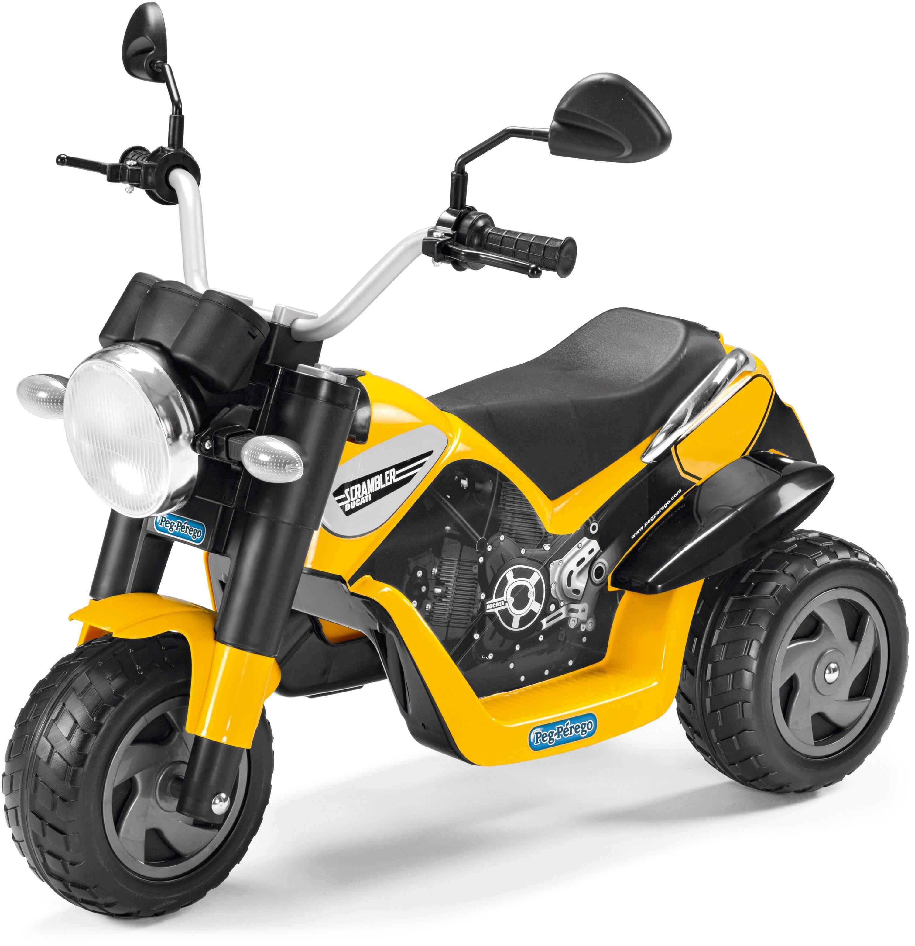 Peg-Pérego Elektrofahrzeug Dreirad, »Ducati Scrambler - 6V«