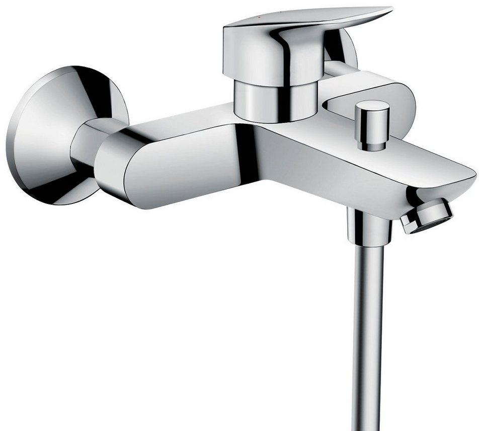 HANSGROHE Duscharmatur »Logis«, Wannen-Einhebelmischer in silberfarben