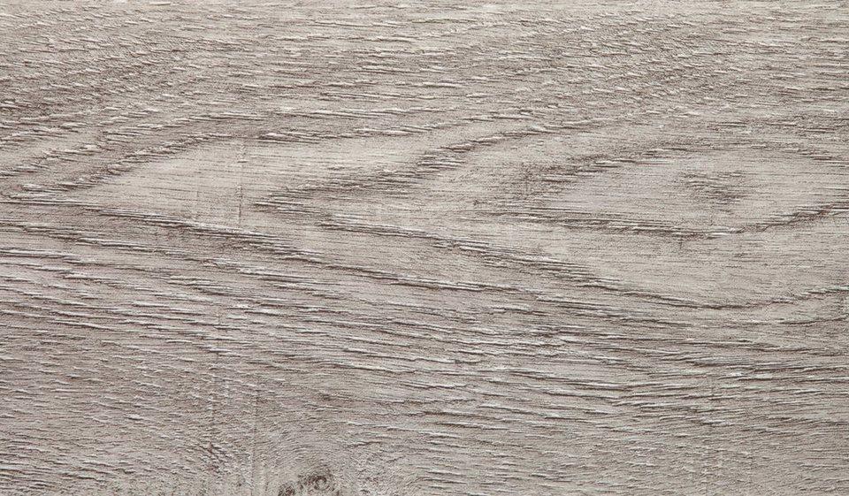 Vinylboden, Stärke 4,2 mm, Eiche grau Nachbildung in grau