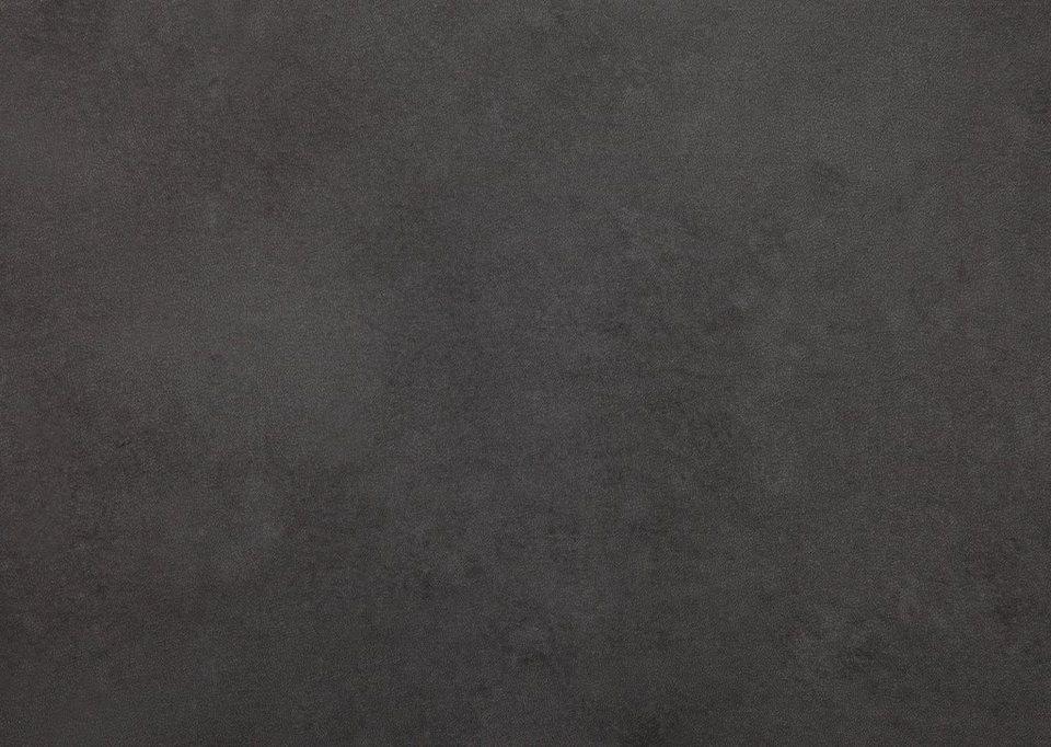 Vinylboden, Stärke 4,2 mm, Eiche schwarz Nachbildung in schwarz