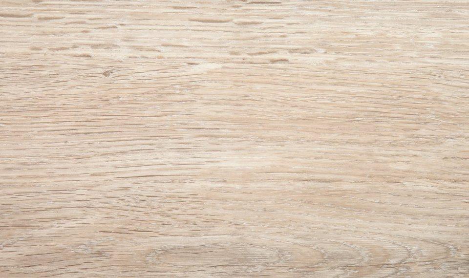 Vinylboden, Stärke 4,2 mm, Eiche hellgrau Nachbildung in hellgrau