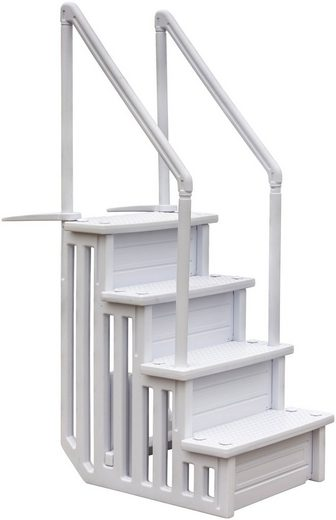 GRE Pool-Treppe »Easy Entry Synthetic«, BxH: 60 x 206 cm