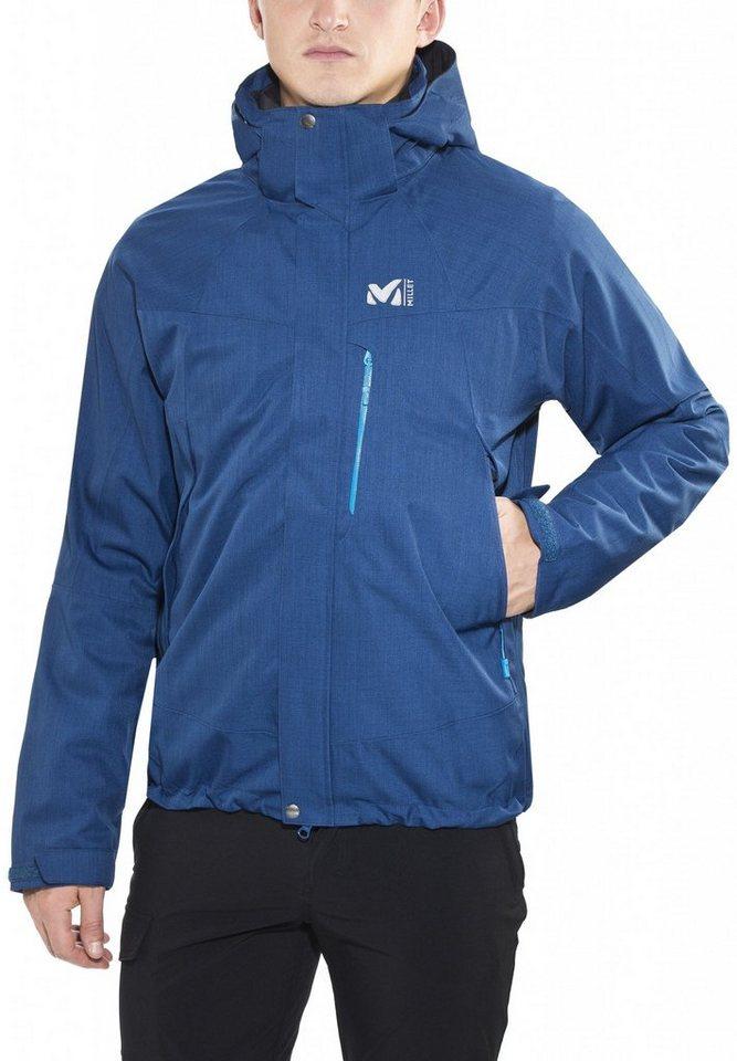 Millet Outdoorjacke »Pobeda 3in1 Jacket Men« in blau
