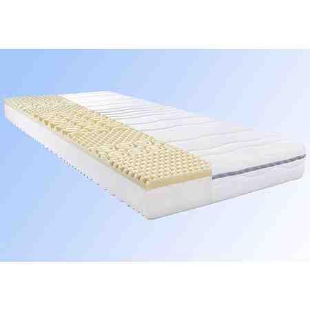 Visco passt sich optimal den Konturen an. Die Matratze ist ideal für Personen mit Rücken- & Bandscheibenproblemen.