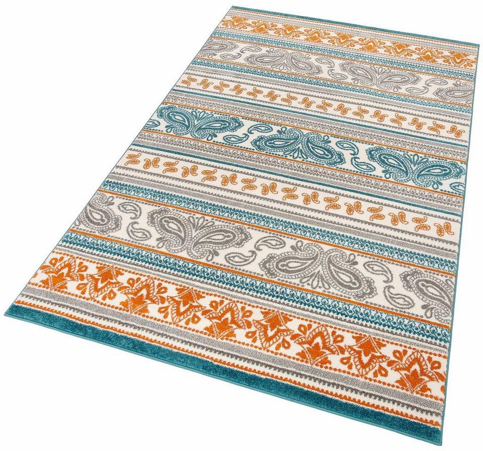 Teppich, my home, »Mona«, gewebt in türkis