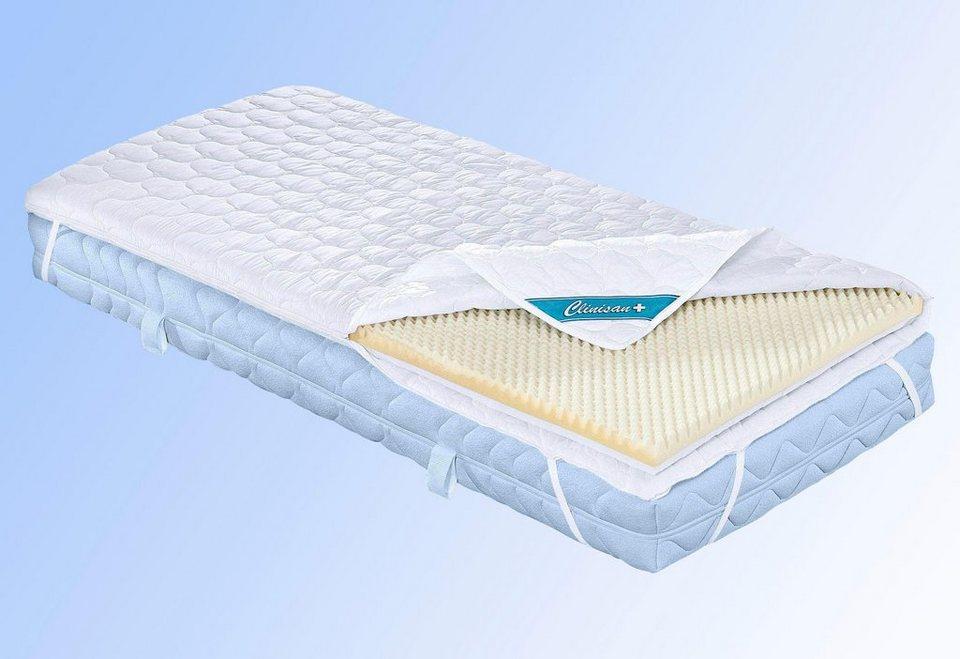 komfortschaum topper clinisan punktoflex f a n 1 tlg. Black Bedroom Furniture Sets. Home Design Ideas