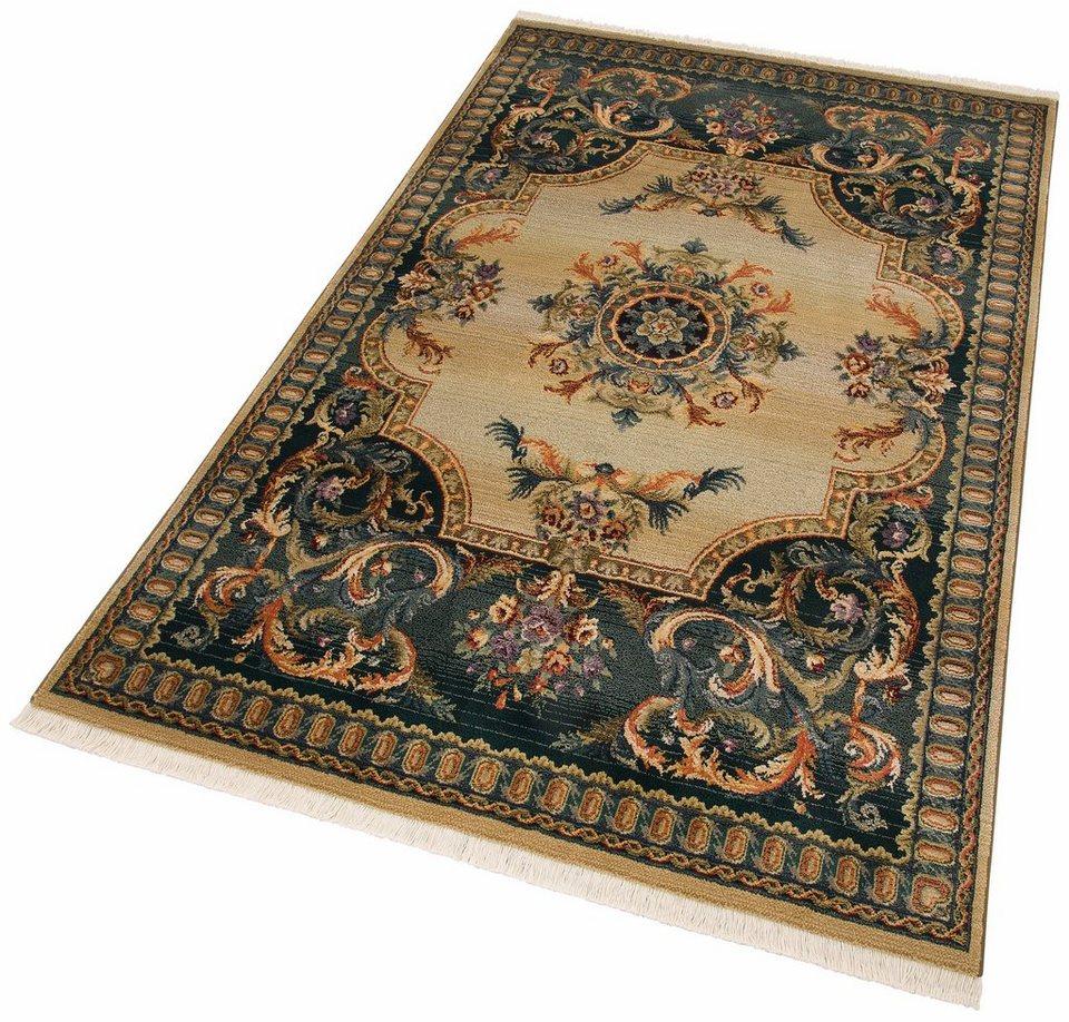 Hochflor-Teppich, Oriental Weavers, »Silja«, Höhe 8 mm mm, gewebt in beige