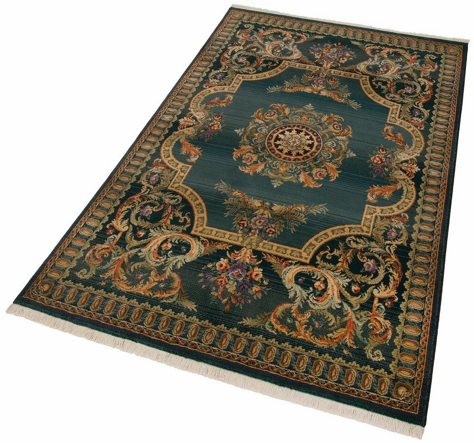 Hochflor-Teppich, Oriental Weavers, »Silja«, Höhe 8 mm mm, gewebt in blau