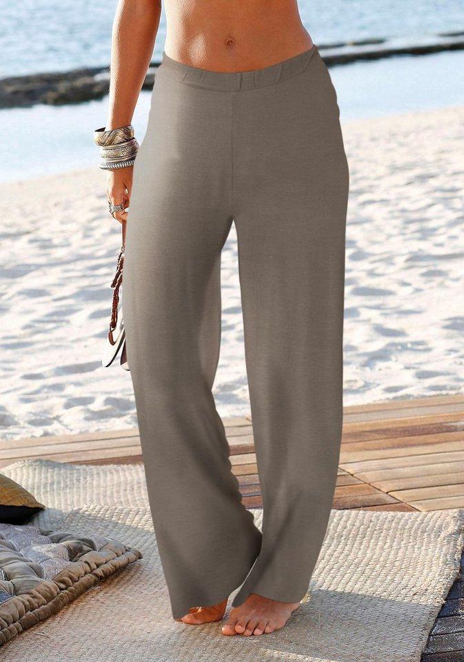 LASCANA Strandhose in khaki