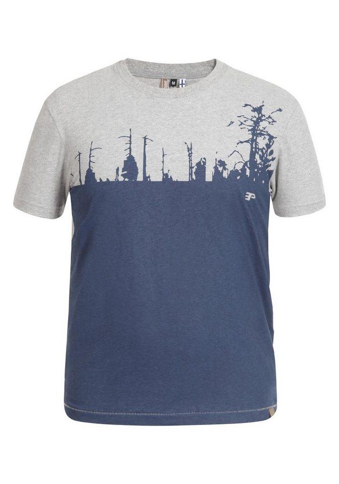 Icepeak T-Shirt »TURIEN« in hell grau