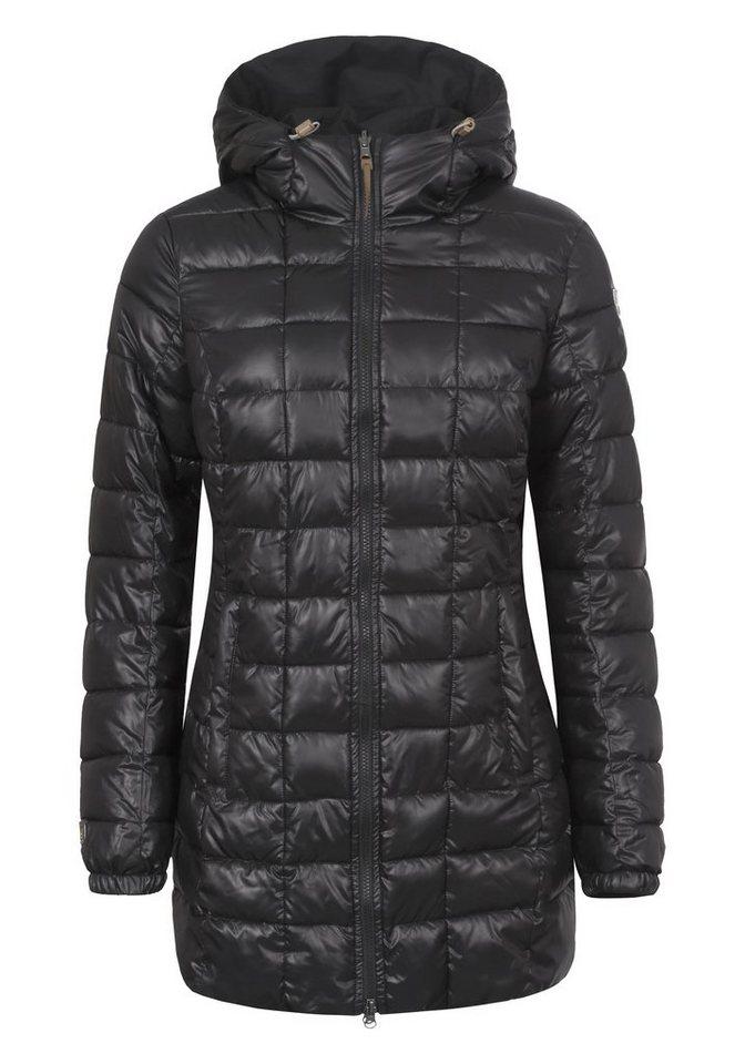 Icepeak Mantel »TARA« in schwarz