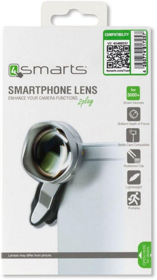 4Smarts Zubehör »Premium Teleobjektiv« in Silber