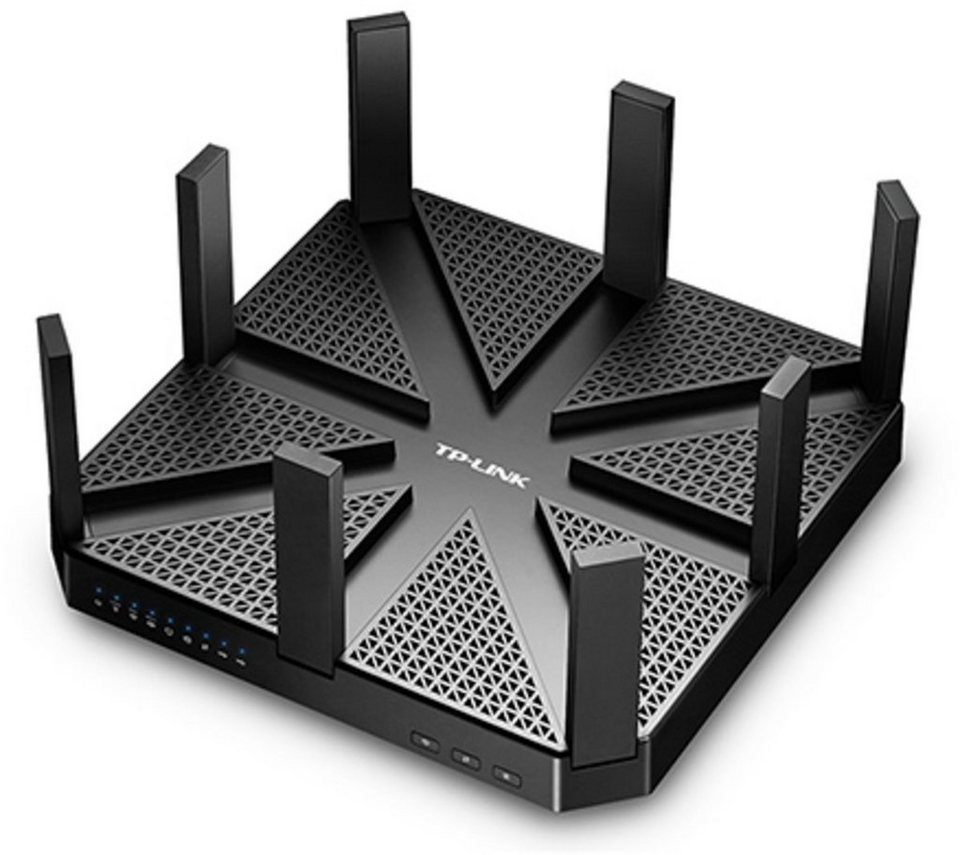 TP-Link Router »AD7200 Tri-Band WLAN AC Gigabit Router« in Schwarz
