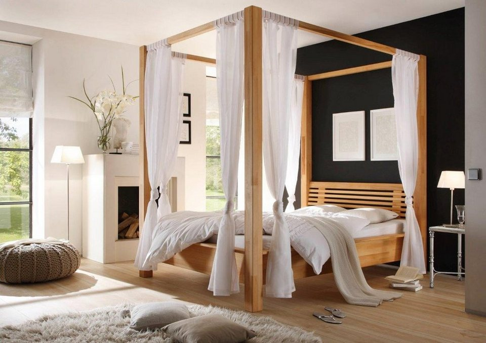 himmelbett online kaufen romantisch gem tlich otto. Black Bedroom Furniture Sets. Home Design Ideas