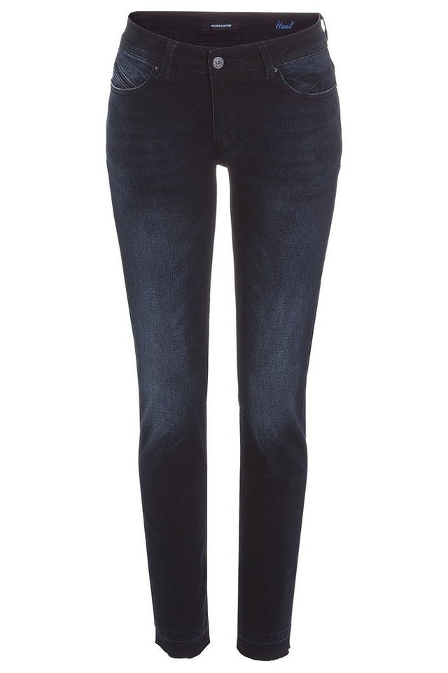 MORE&MORE Blue-Black Jeans in denim