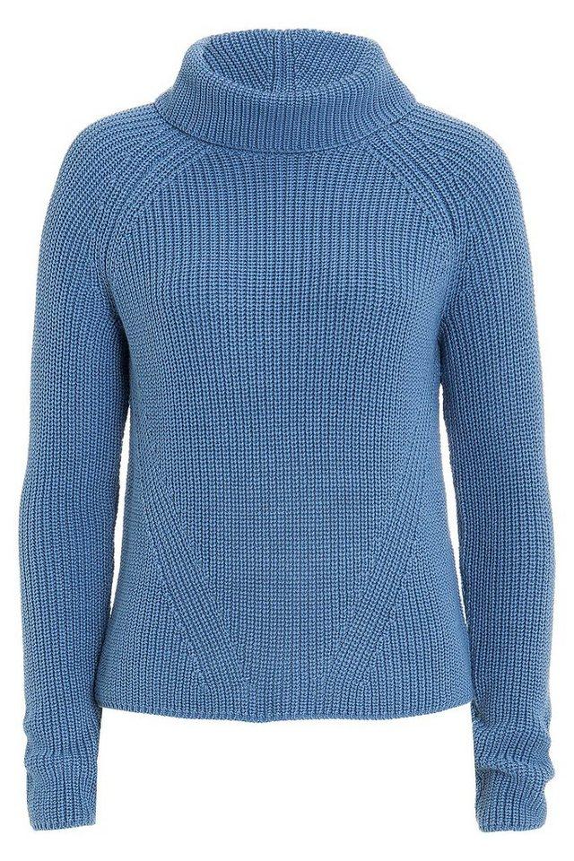 MORE&MORE Pullover in blau