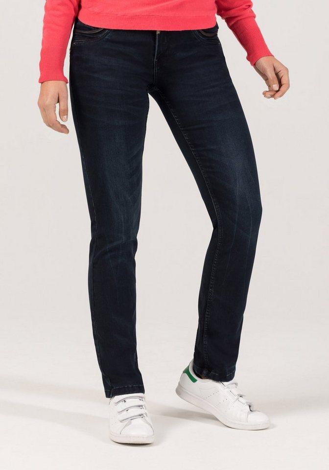 "TIMEZONE Jeans »TahilaTZ ""3787 noble blue wash""« in noble blue wash"