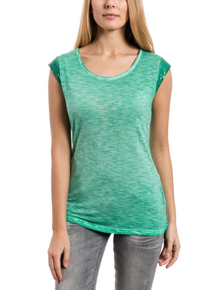 TIMEZONE T-Shirts (mit Arm) »T-shirt« in green spring