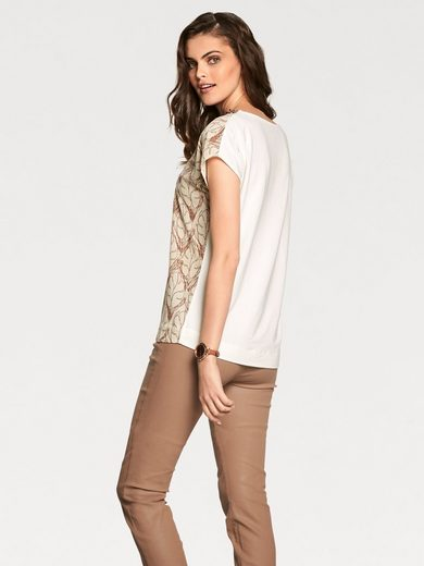 PATRIZIA DINI by Heine Stickerei-Shirt Pailletten