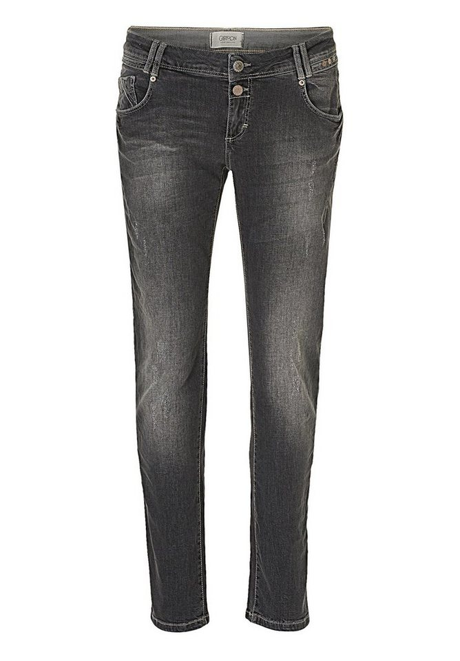 Cartoon Jeans in Black Denim - Grau