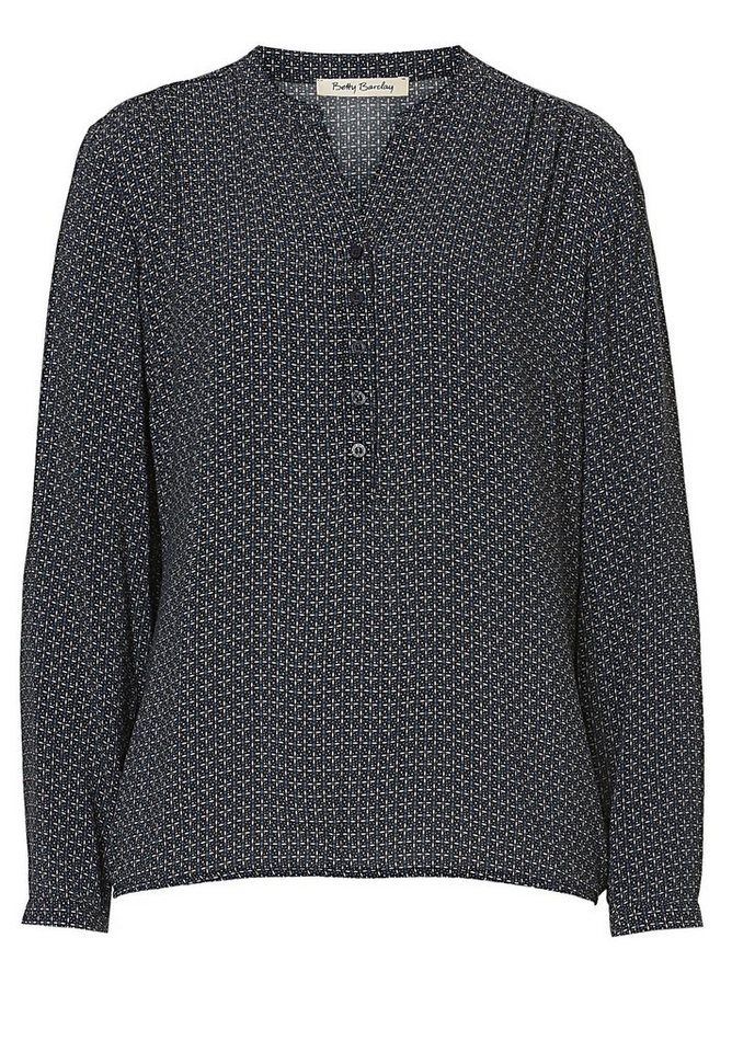 Betty Barclay Bluse in Dark Blue/Beige - Bl