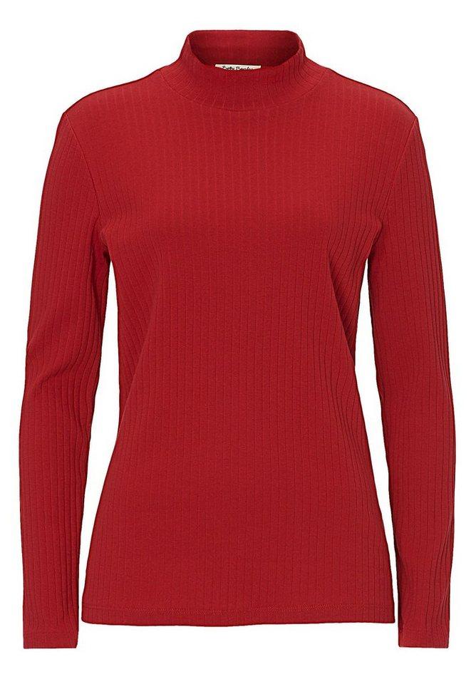 Betty Barclay Shirt in Dunkelrot - Rot