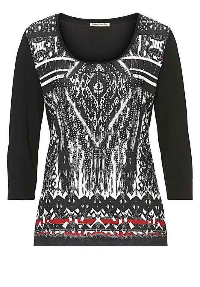 Betty Barclay Shirt in Schwarz/Weiß - Grau